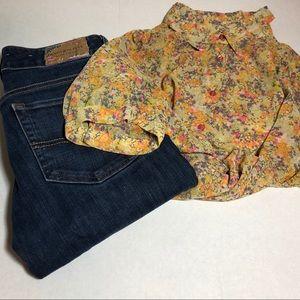 Anthropologie Pins & Needles blouse